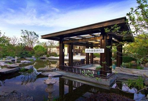 别墅庭院设计:水体景观有什么作用